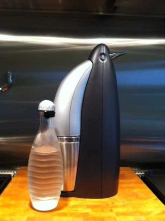 gear you need the penguin from sodastream or home soda. Black Bedroom Furniture Sets. Home Design Ideas