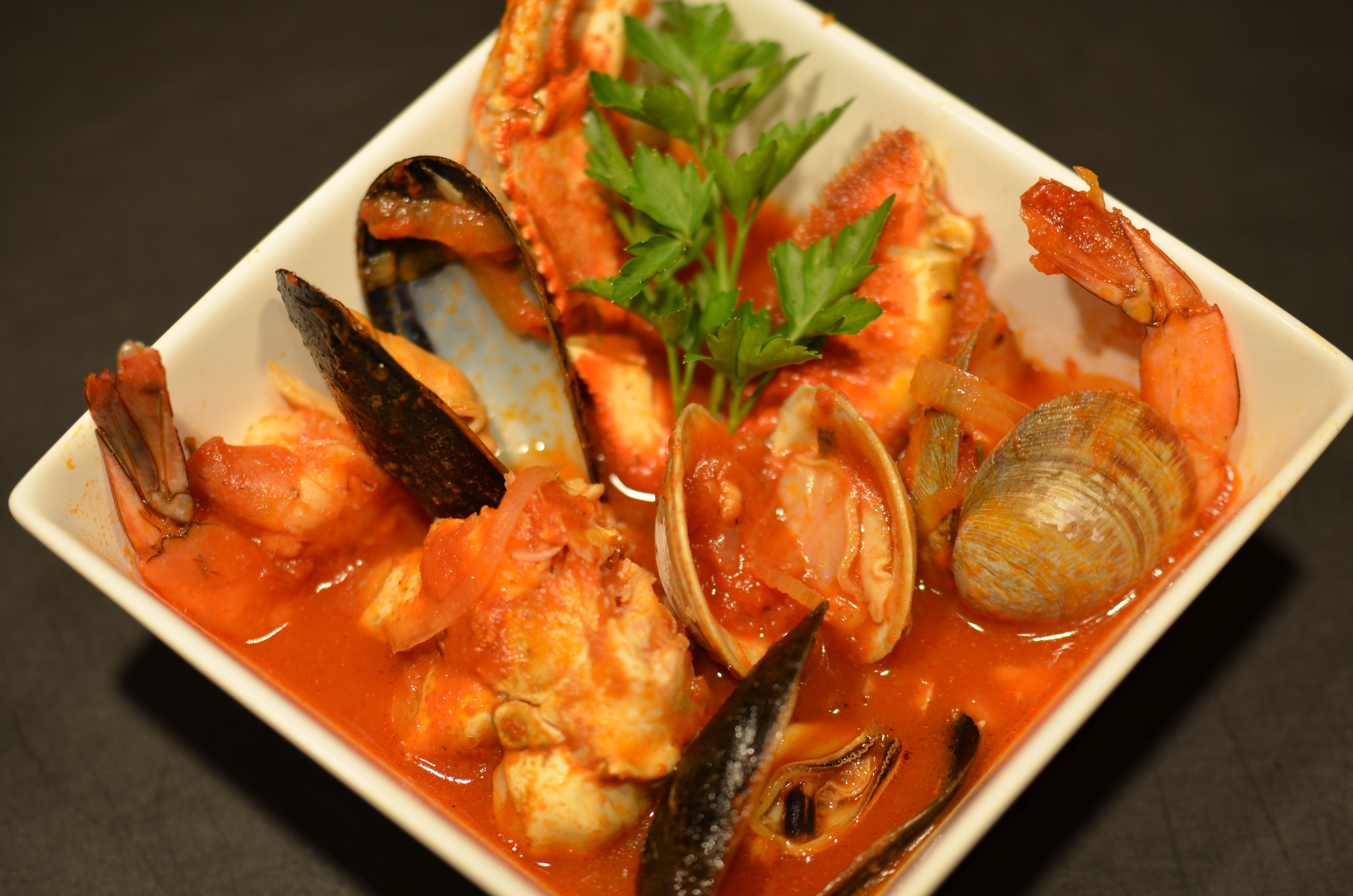 Cioppino california seafood stew putney farm for Recipe for seafood stew