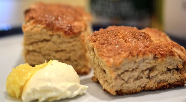 maple syrup scone recipe « Putney Farm