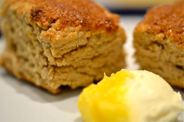 Maple Syrup Scones Recipe — Dishmaps