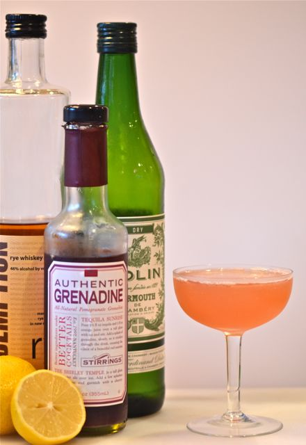 Bonus Cocktail: The Scofflaw « Putney Farm