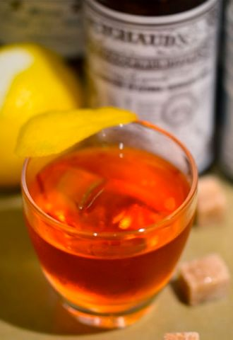 The Sazerac Cocktail.
