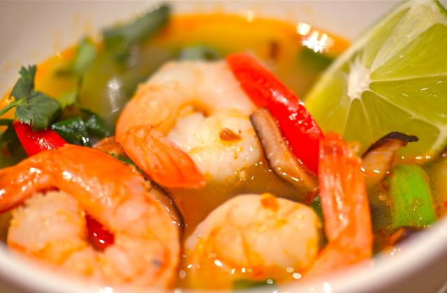 Tom Yum Goong: Thai Hot And Sour Shrimp Soup « Putney Farm