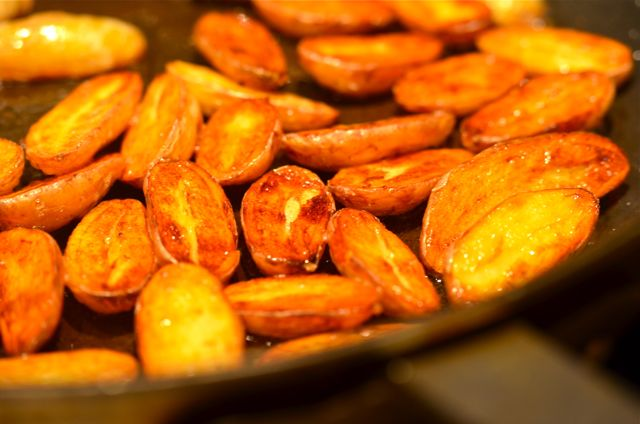 Extra Crispy Duck Fat-Fried Fingerling Potatoes Recipes ...