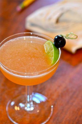 Wild-Eyed Rose cocktail.