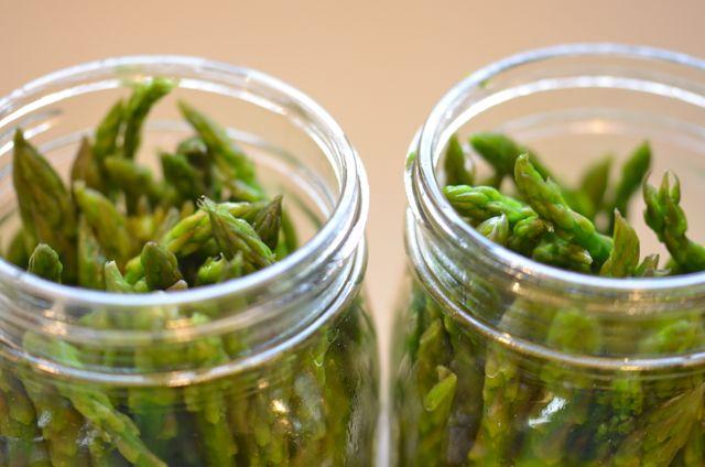 Pickled Asparagus: