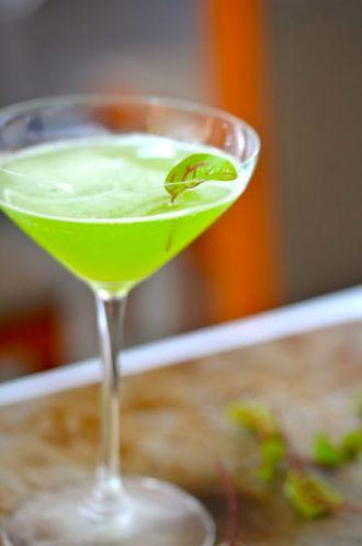 Cocktail at Manresa.