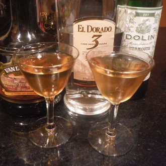 Daiqurbon cocktail.