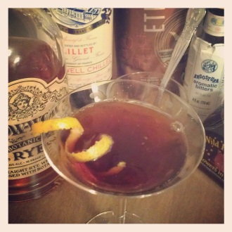 Madison's Revenge cocktail.