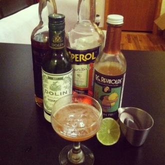 Pan Am cocktail.