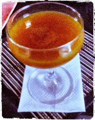 World Traveler cocktail.