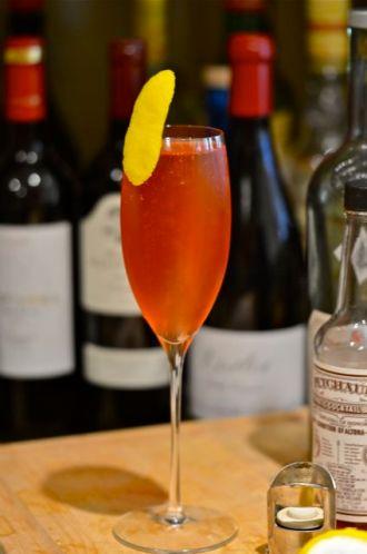 The Royal Sazerac cocktail.