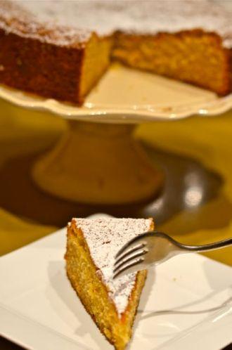 Almond cake. Life is good.